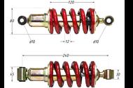 Амортизатор задний (L-240mm,D-10mm,d-10mm) Z1 4650066003864