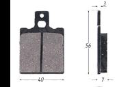 Колодки тормозные дисковые JOG (HF115) 7мм 4670025452656