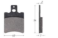 Колодки тормозные дисковые Yamaha высокие MALOSSI 629012 4680329014009