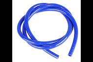 Шланг бензиновый 4,5х8,5, 1м, силиконовый (цв. синий) 4680329029522