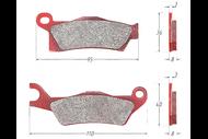 Колодки тормозные дисковый BRP (с 2012г.) на платформе g2 (правые) 4680329031549