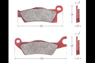 Колодки тормозные дисковый BRP (с 2012г.) на платформе g2 (левые) 4680329031556