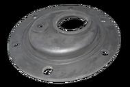 """66480 """"Прокладка резиновая под 6 болтов  под фланец D 125 мм (Round) со смещением под флянец  """""""