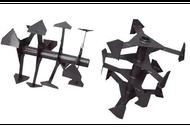 Фреза культиваторная 24 ножа Китай(шест 25 мм)